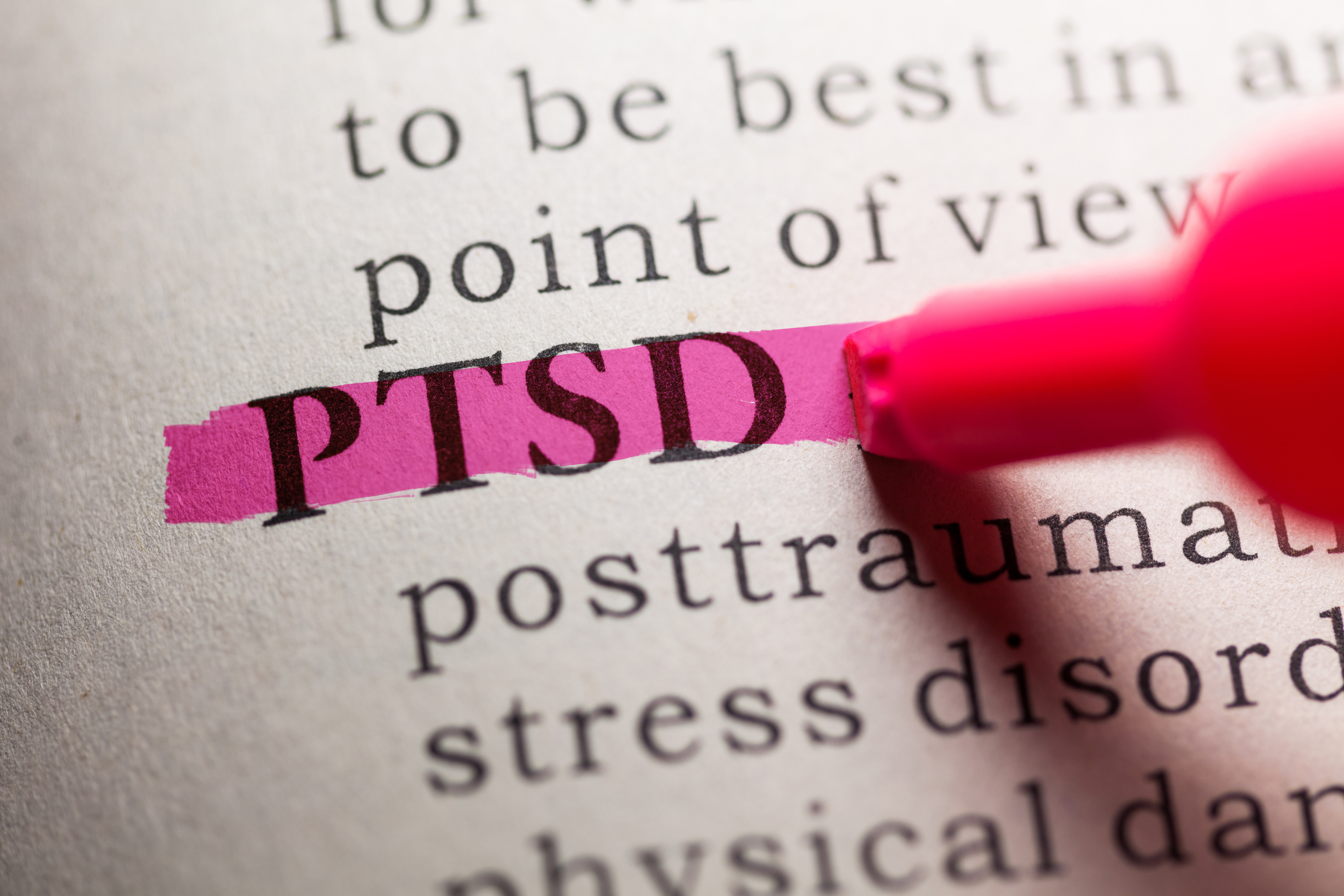 Fake Dictionary, definition of the word PTSD.